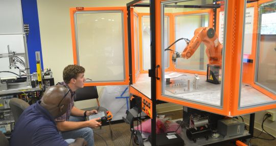 ECPI University Greenville and PA Solutions partner for robotic training