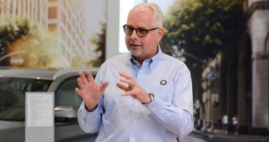 New BMW Manufacturing CEO not changing plans 'at this point' > GSA Business&#8221; height=&#8221;300&#8243; width=&#8221;400&#8243;></p> <p> &#8211; AutomotiveDespite recent rhetoric from President Donald Trump over raising tariffs on goods imported into the United States, the new CEO of BMW Manufacturing Co. isn't worried.<br />  .</p> <p>read more from <a href=