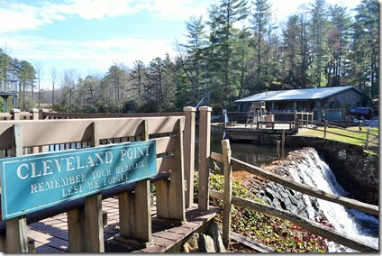 A view of the grounds at YMCA Camp Greenville in the Cleveland community in Greenville County. (Photo by Bill Poovey)