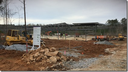 A 17,000-square-foot life sciences lab facility is on track to be completed this summer in Greenwood. (Photo provided)