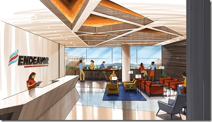Membership-based co-working entity Endeavor will have nine charter members when it opens its doors in late May on the fourth floor of the One building in downtown Greenville. (Image provided)