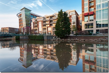 Rental rates in downtown Greenville continue their upward trend while vacancy rates in the area have continued to drop, according to a recent report by Colliers International. (File photo)