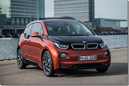 Global sales of the 2016 BMW i3 electric hybrid increased by 50.7% for the month of April as BMW Group global sales ticked up 1.9% for the month and 4.9% for the first four months of 2016. (Photo provided by BMW Group)