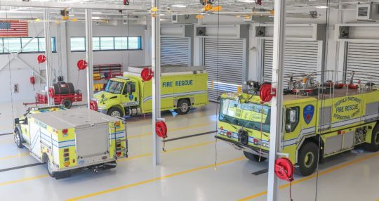 GSP opens new building for fire and rescue service