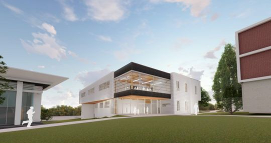 Wofford breaks ground on new Chandler Center for Environmental Studies