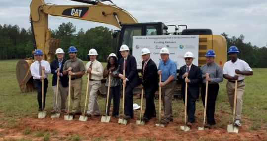 City of Clinton, Laurens County developing industrial park on I-26