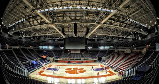 Clemson officials unveil Littlejohn Coliseum upgrades