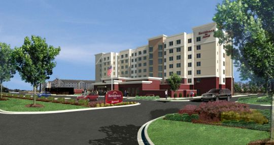 Construction starts on Residence Inn