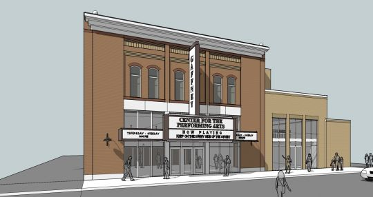 Gaffney positioning for new performing arts center