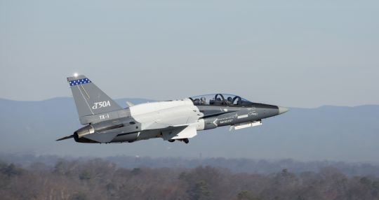 Second T-50A flies in Greenville