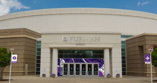 Furman University to sponsor entrance to Bon Secours Wellness Arena