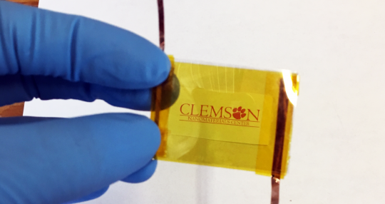 Clemson researchers are turning motion into electricity