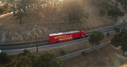 Denny's dispatches Mobile Relief Diner