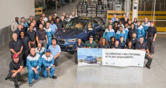 BMW Manufacturing rolls off 4 millionth vehicle