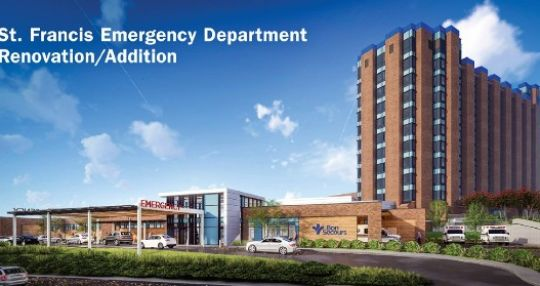 Bon Secours St. Francis breaks ground on emergency department expansion