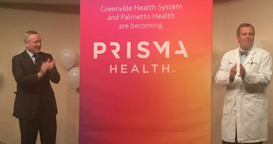 GHS and Palmetto Health to become Prisma Health