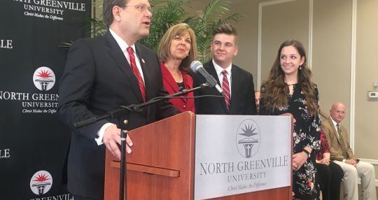 North Greenville University names 8th president