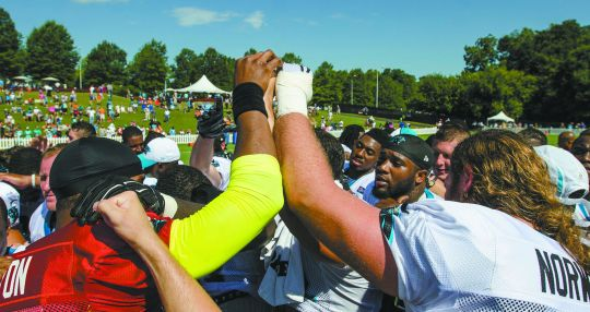 Spartanburg leveraging Panthers camp for total city experience