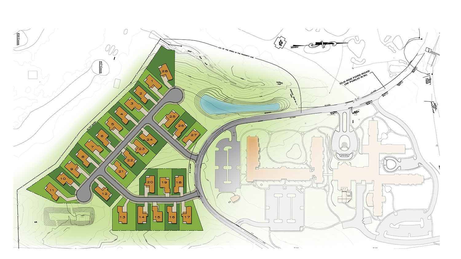 The Woodlands at Furman is adding 28 homes on the southern end of its 22-acre campus. (Rendering/Provided)