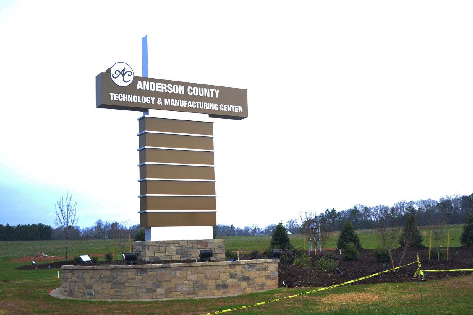 The new Anderson County Technology and Manufacturing Center is in Sandy Springs along Highway 76. (Photo/Teresa Cutlip)