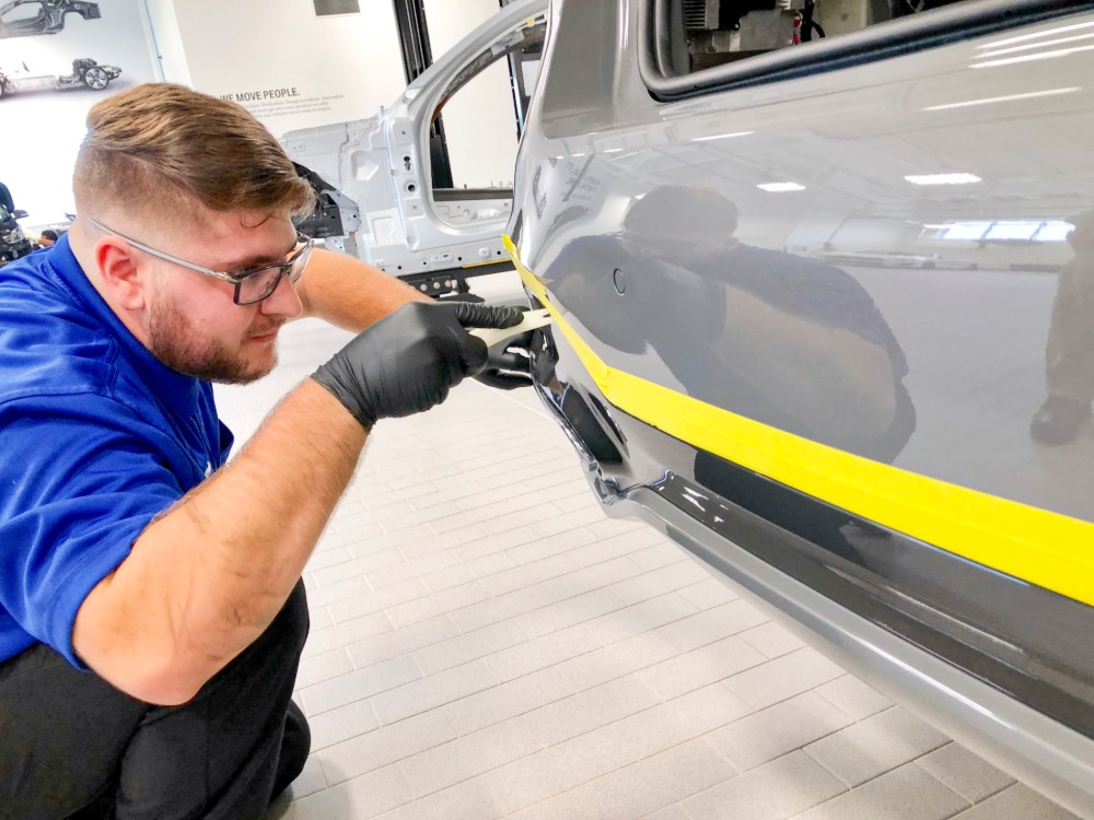 About 95% of the students who pass through BMW's Service Technician Education Program find jobs at auto dealerships across the country. (Photo/Fred Rollison)