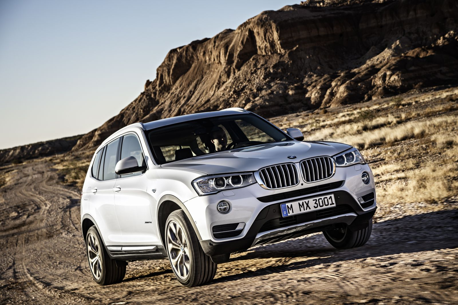 The BMW X3 model, which is produced at the company's Spartanburg plant, experienced a 42.9% increase in sales in the United States during the month of March. (Photo/Provided)