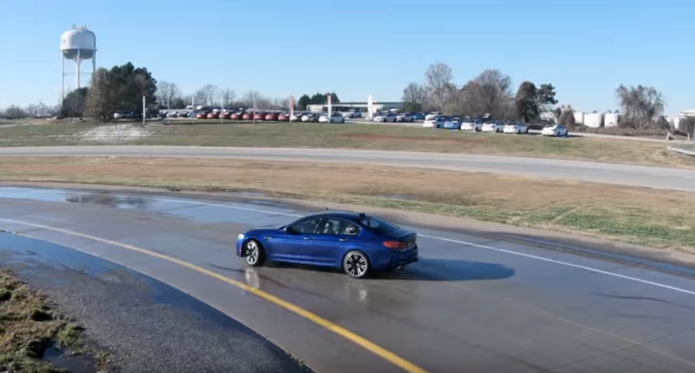 BMW has clocked a 200+ mile drift in the new M5