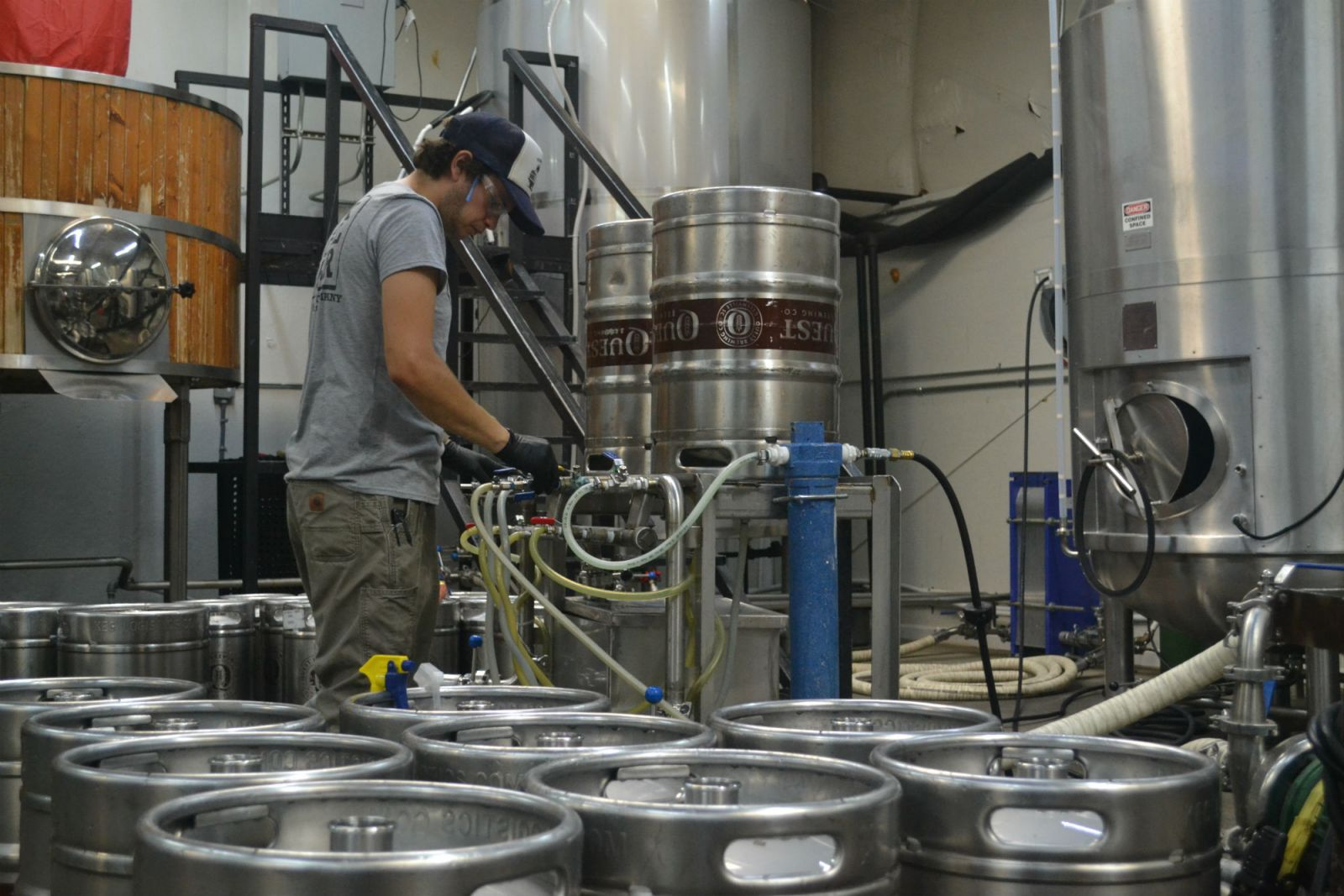 The Brewers Association puts the total economic impact of the craft beer industry in South Carolina at $650 million in 2017, which is 28th among states in terms of dollars, but 49th in impact per capita.  Quest Brewing in Greenville is one of those craft brewers. (Photo/Ross Norton)