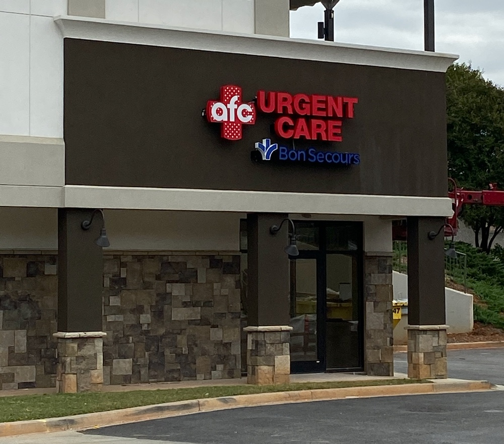 Bon Secours St. Francis Health System is expanding its AFC Urgent Care Bon Secours sites to include a new 3,000-square-foot location at 2709 Pelham Road. (Photo/Provided)