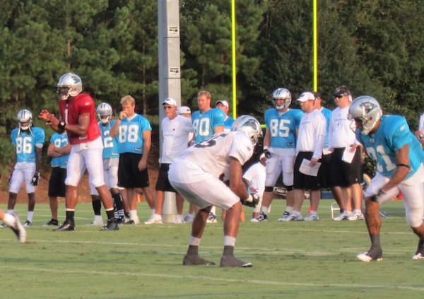 The Carolina Panthers have held summer training camp at Wofford College since 1995. This year, the economic impact of the camp was reported at $13.2 million, according to a study by Clemson University. (Photo/Provided)