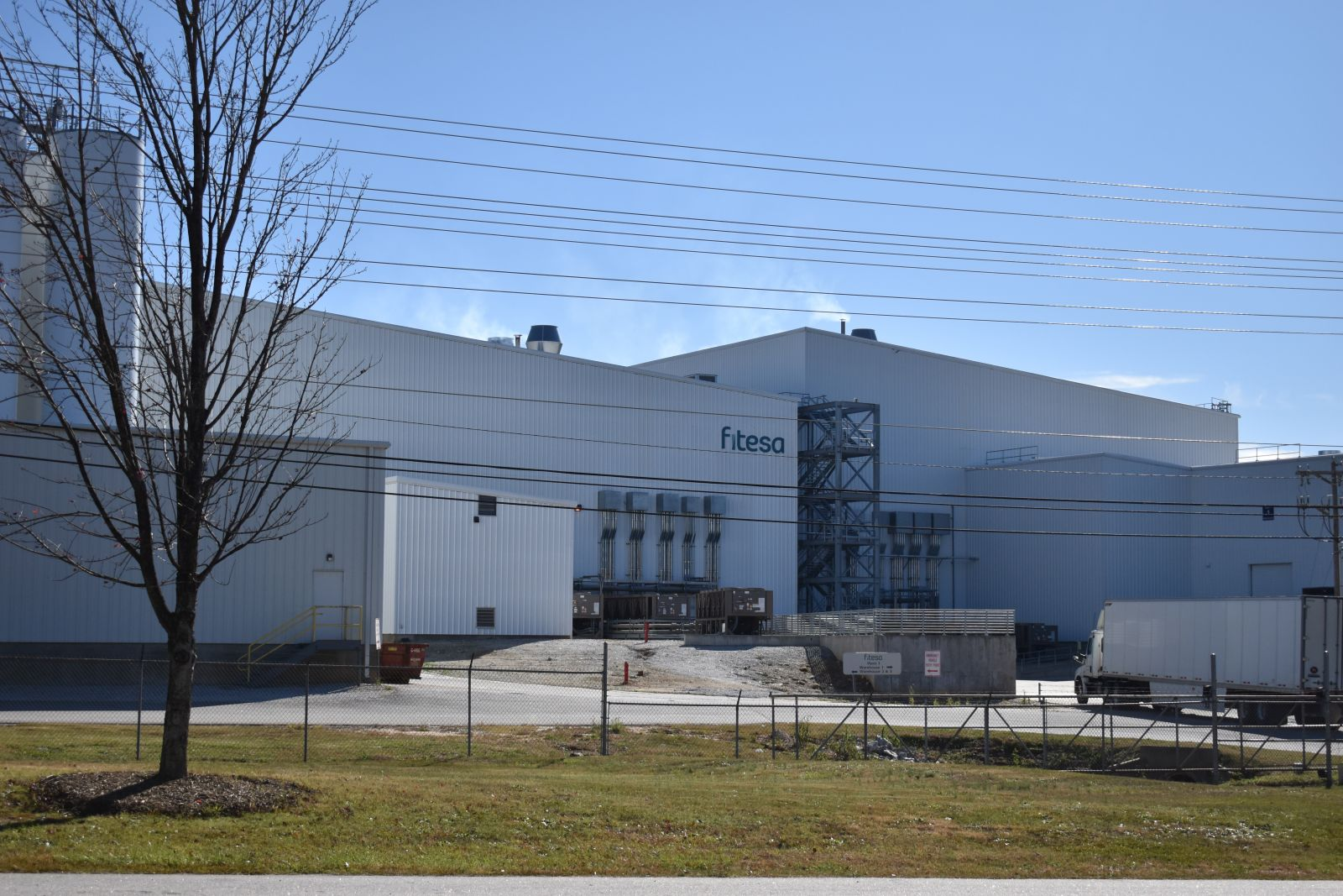 Fitesa's Simpsonville plant is one of several global locations set to expand under the company's current investment plan. (Photo/Molly Hulsey)