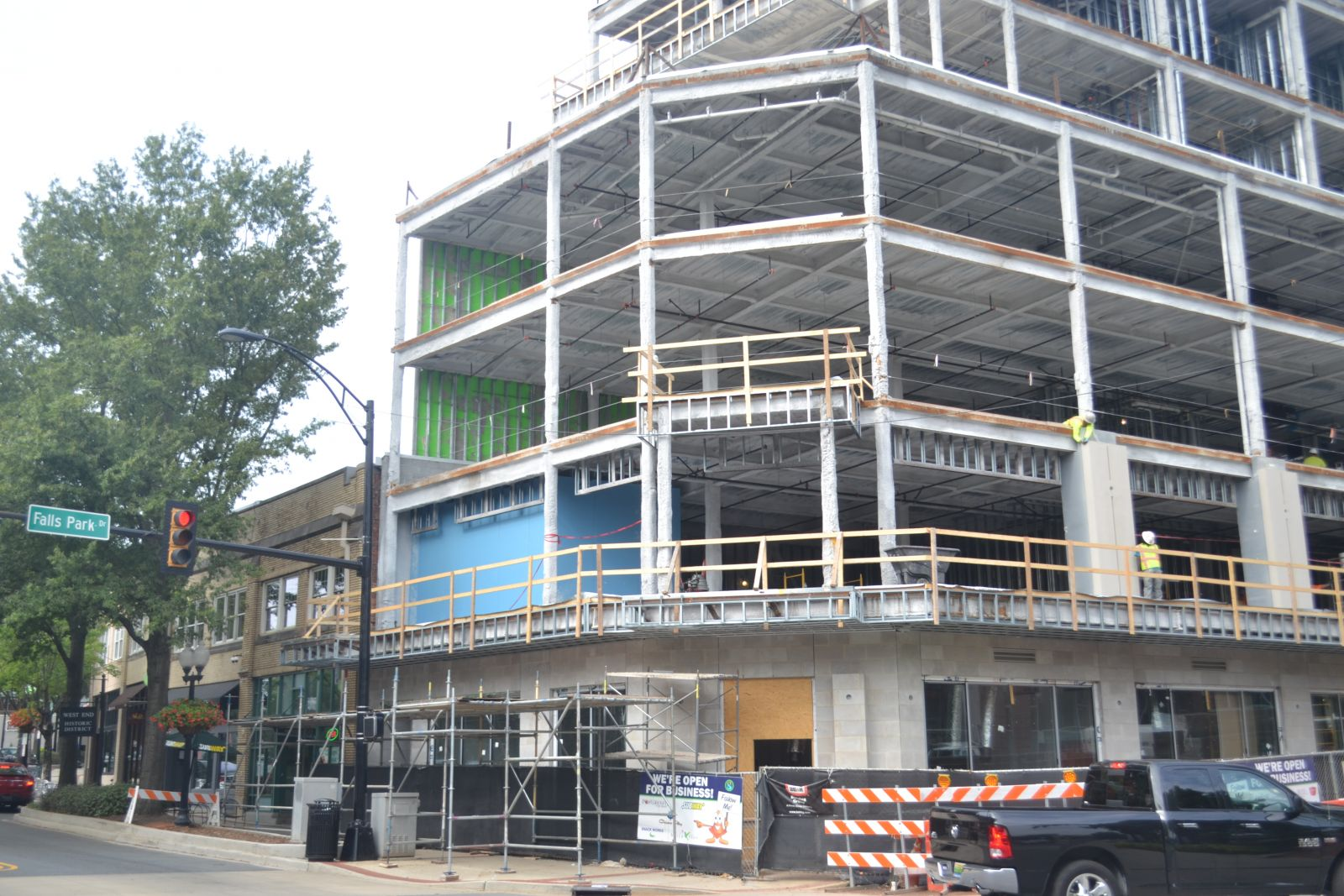 Duke Food Productions expects to have its headquarters moved to 600 S. Main St. early next year. (Photo by Teresa Cutlip)