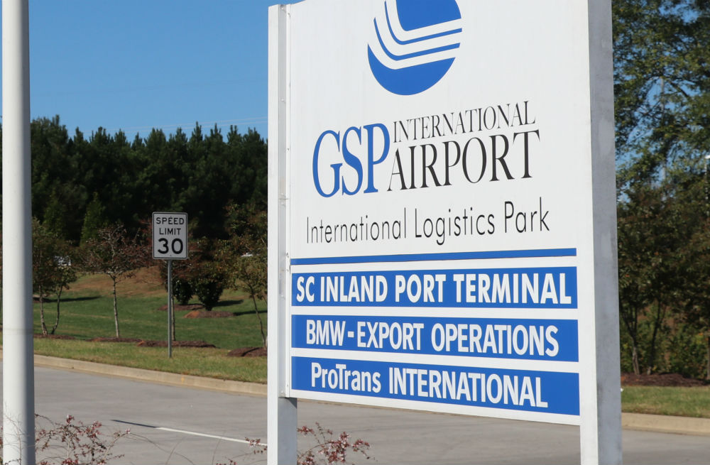The success of GSP's International Logistics Park is one of the key reasons for a big increase in the airport's economic impact on the region. The park has attracted tenants who are mostly associated with auto manufacturing. (Photo/Provided)