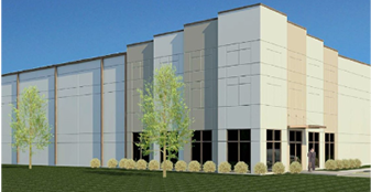 This is a rendering of the 182,000-square-foot expansion for Gestamp South Carolina in Union County. Agracel Inc. was selected to develop that part of the total 300,000-square-foot expansion. (Rendering provided)