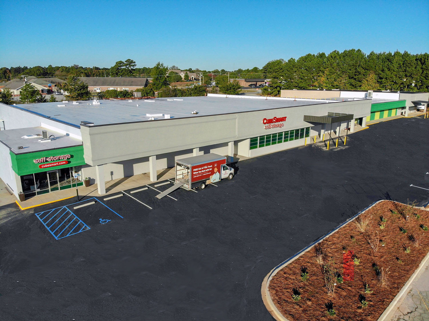 CubeSmart in Greenwood features 300 storage units ranging from 25 to 300 square feet. (Photo/Provided)
