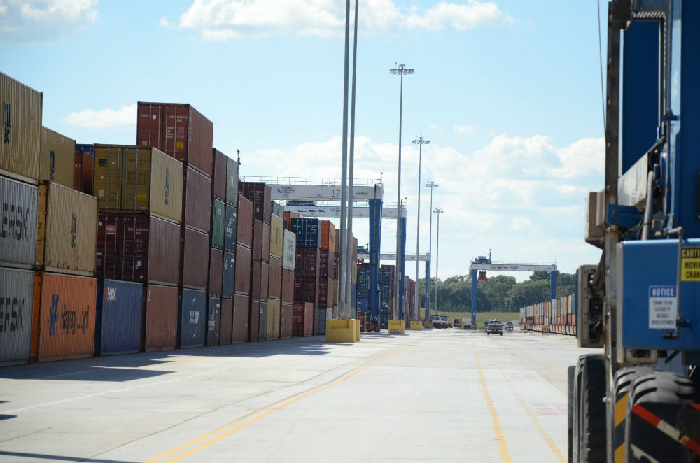 Inland Port Greer is expanding and received a $25 million grant to support the project. (Photo/File)