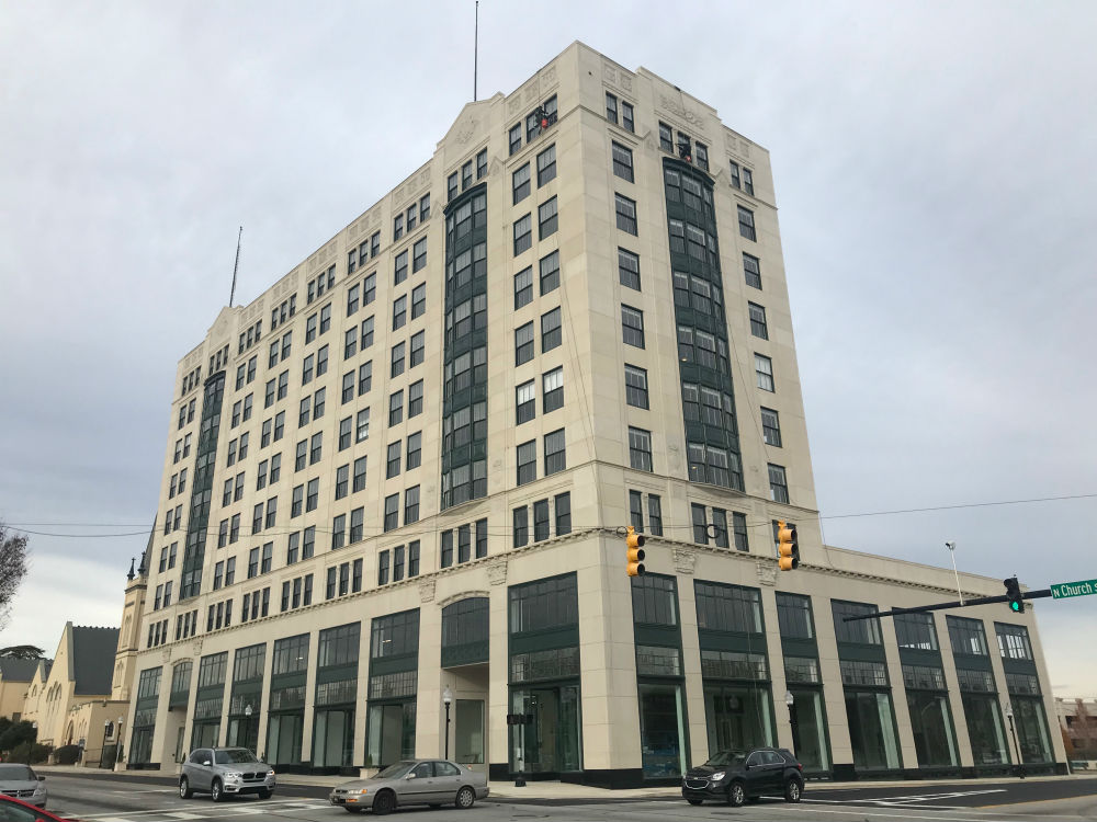 The Montgomery Building has undergone a $29.5 million renovation. (Photo/Teresa Cutlip)