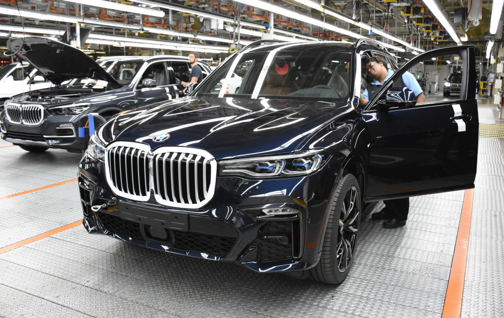 Bmw Manufacturing Begins Production Of X7 Gsa Business