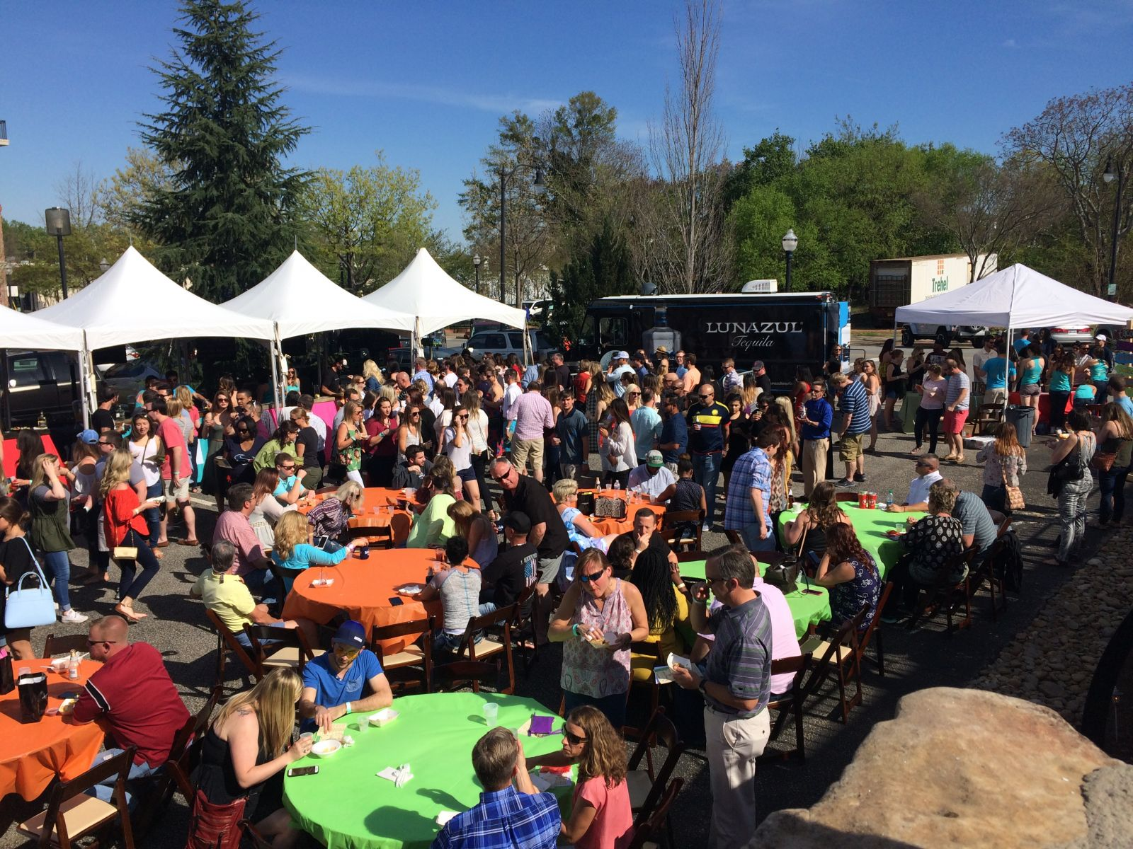 More than 800 people attended Tacos n' Tequila Fiesta. (Photo/Provided)