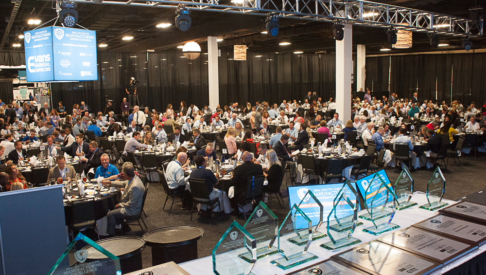 The Salute to Manufacturing Awards Luncheon took place Wednesday as part of the S.C. Manufacturing Conference and Expo. (Photo/Robert Klemm)