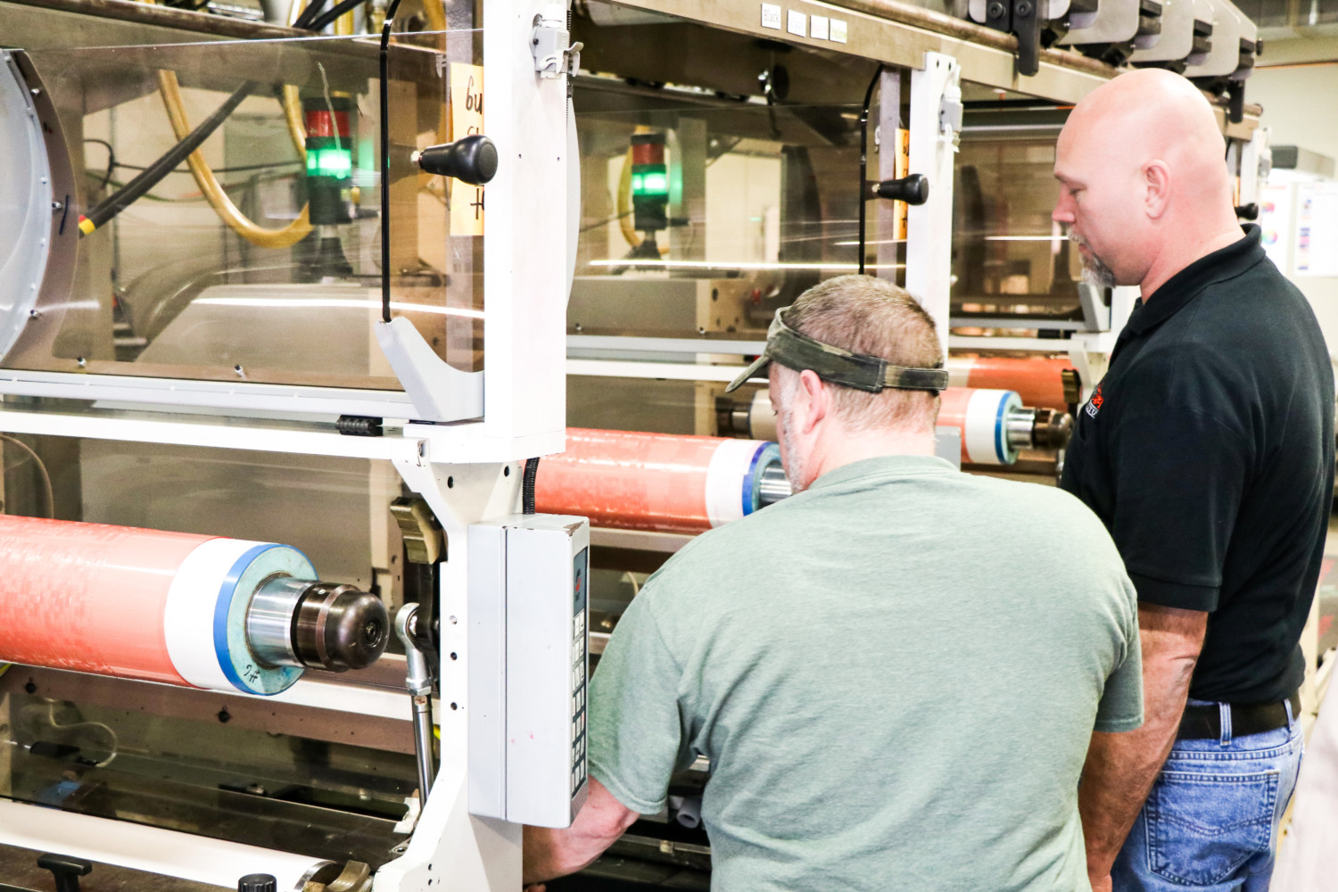 Course participants can get hands-on experience with the flexographic press at the Sonoco Institute of Packaging Design and Graphics at Clemson University. (Photo/Provided)