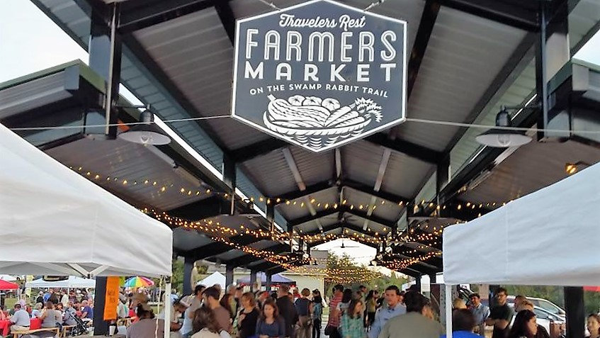 Customers will start to line up for farmers markets in both Greenville and Travelers Rest beginning Saturday, May 7. (Photo provided)