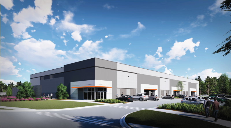 The first building on CU-ICAR's new technology community is a multi-tenant 40,000-square-foot high-bay facility. (Photo/Provided)